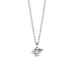 Halskette für Damen Knot aus Edelstahl
