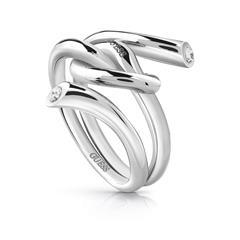 Ring Wrapped Knot für Damen aus Edelstahl