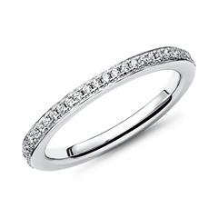 Verlobungsring Silber mehrere Zirkonia 1,9mm