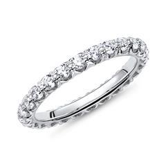 Verlobungsring 925 Silber mit weißem Steinbesatz