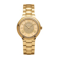 Guess Uhr Ladies Dress Madison gold Zirkonia W0637L2