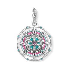 925er Silber Charm Anhänger Maya Kalender
