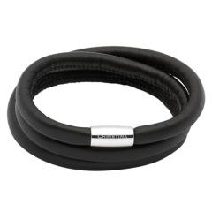 Schwarzes Charm Armband