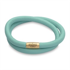 Zweireihiges Armband Endless mint zweireihig gold 12515