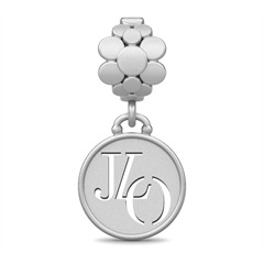 Dangle JLO Blossom Drop Silber