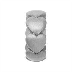 Endless Silber Charm Hearts 41157