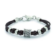 Leonardo-Herrenarmband Icon uno Men 015253