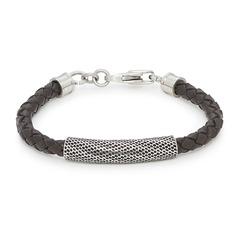 Geflochtenes Leder-Armband Allegro Men