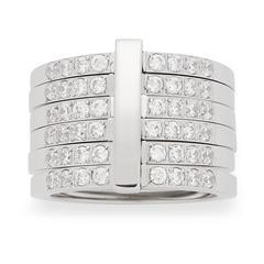 Stylischer Ring Lustrino Zirkonia