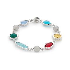 Armband mit Glassteinen