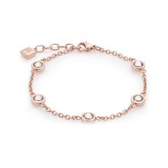 Damen Armband Edelstahl in Rosé