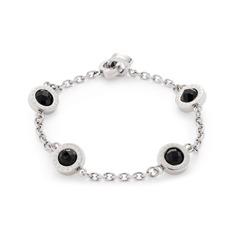 Matrix Darlin´s Armband Glas schwarz