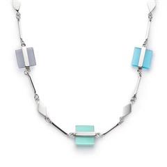 Halskette Ponte Cateye blau