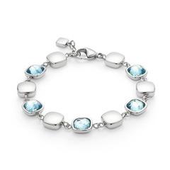 Cuscino Armband blau