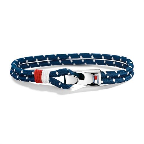 Unisex Armband blau weiß