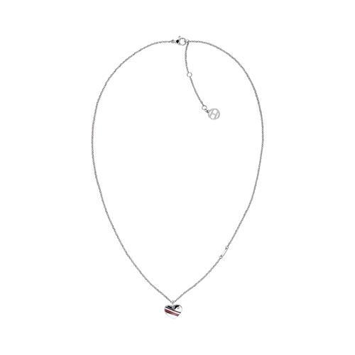 Casual Core Damenkette aus Edelstahl Herz gravierbar