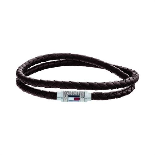 Armband Casual Core für Herren aus braunem Leder