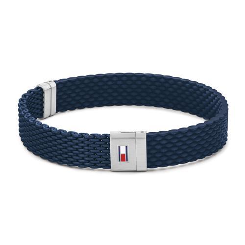 Armband Casual für Herren aus Silikon und Edelstahl
