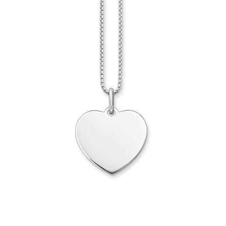 Herzkette von Thomas Sabo aus 925er Silber SET0398-001-21-L42v
