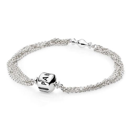 Armband 925 Silber Clipverschluss