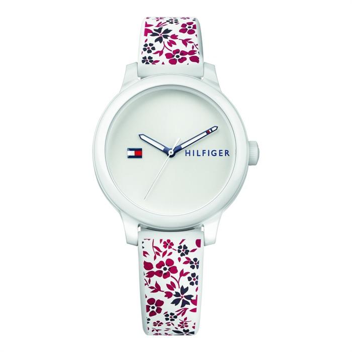 Damen Uhr Blumen