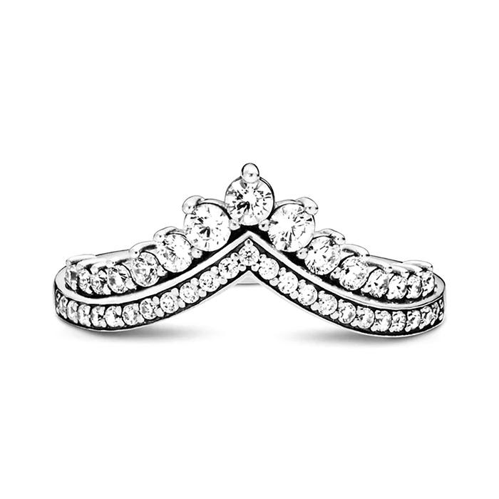 Damenring Princess Wish aus 925er Silber mit Zirkonia