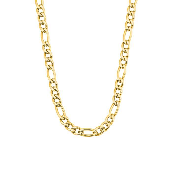 Damenkette aus vergoldetem Edelstahl