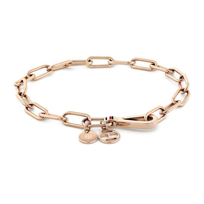 Armband Dressed Up aus rosévergoldetem Edelstahl