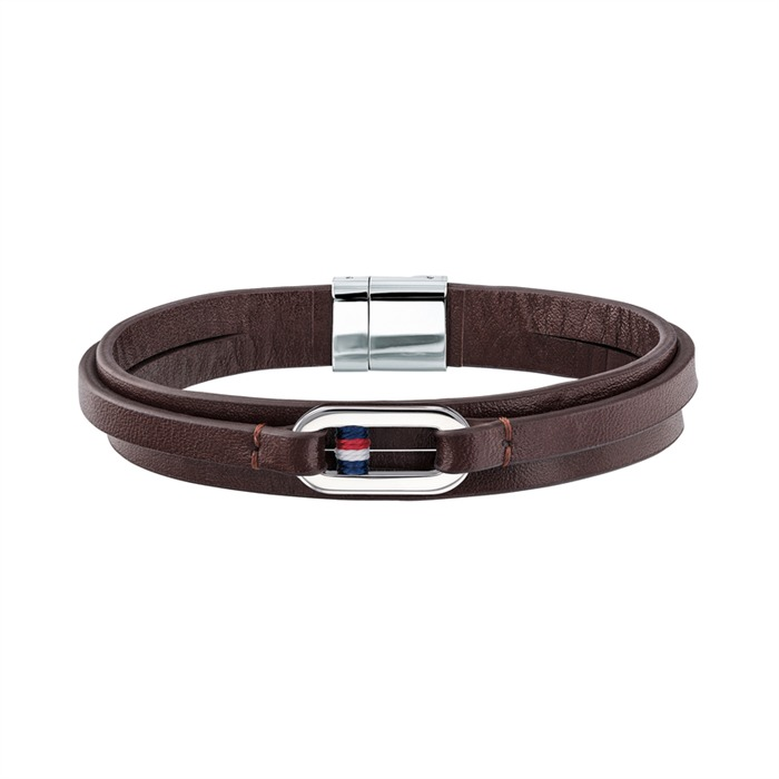 Brown Leather Bracelet Casual Core For Men