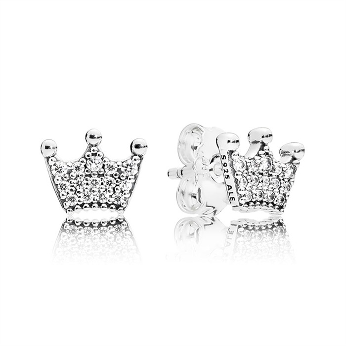 Ohrstecker Enchanted Crowns 925er Silber