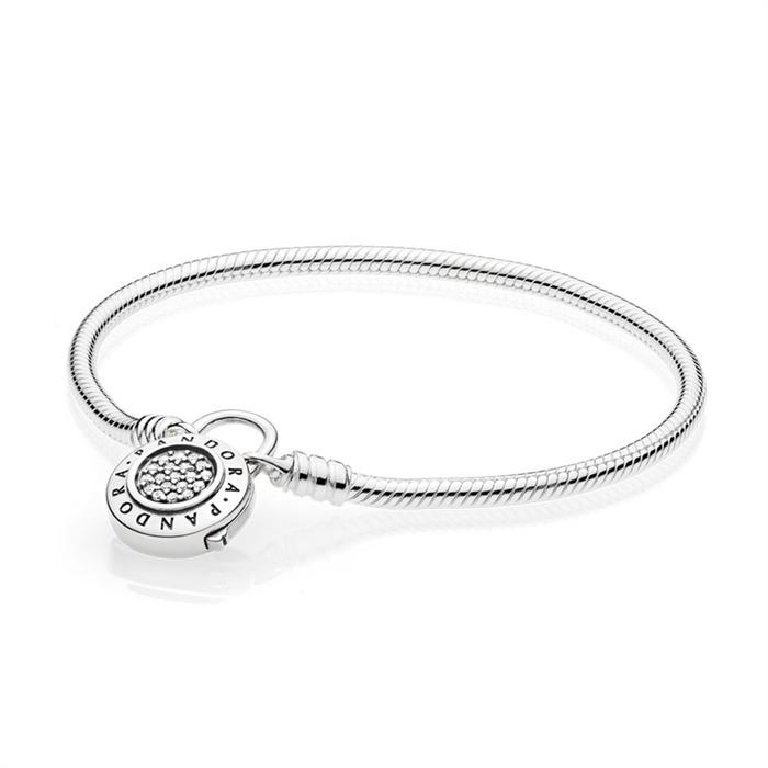 925er Silber Armband Padlock