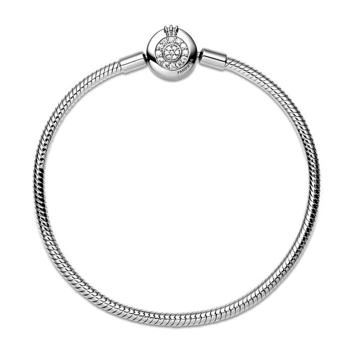 925er Silber Armband Crown O für Damen mit Zirkonia