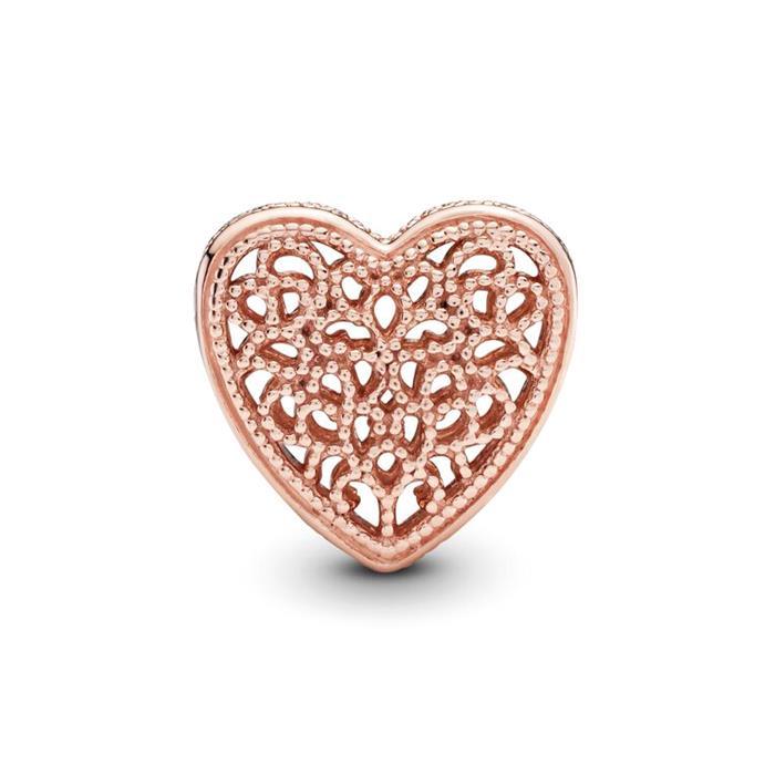 Herz Bead floral ROSE