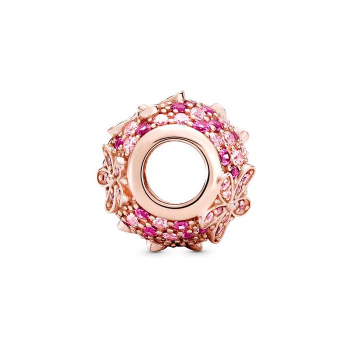 ROSE Gänseblümchen Charm mit Kristallen