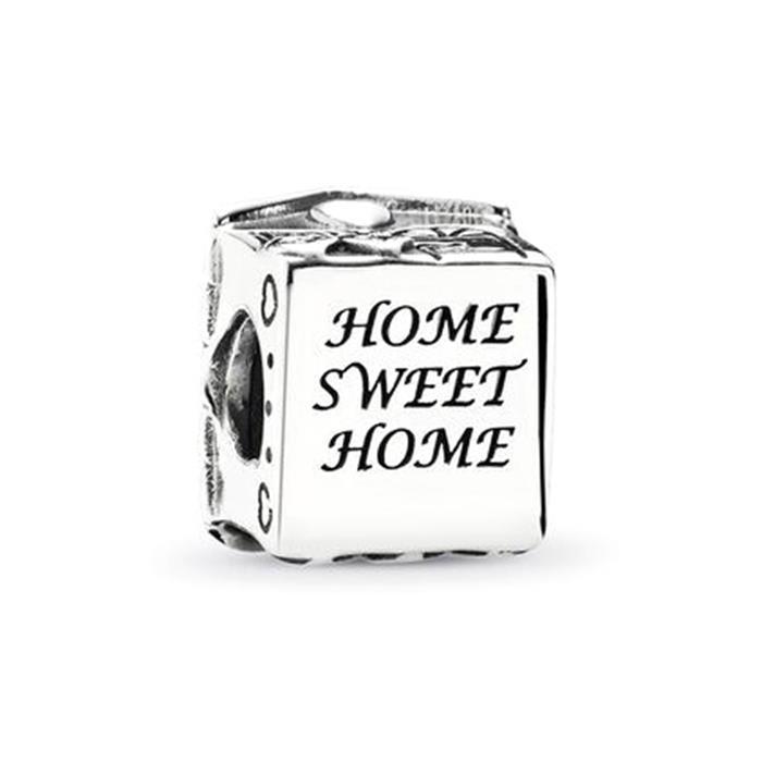 Charm Familienheim 925er Silber
