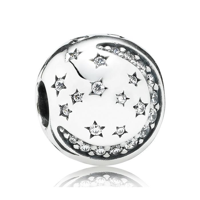 Charm Mond und Sterne Zirkonia