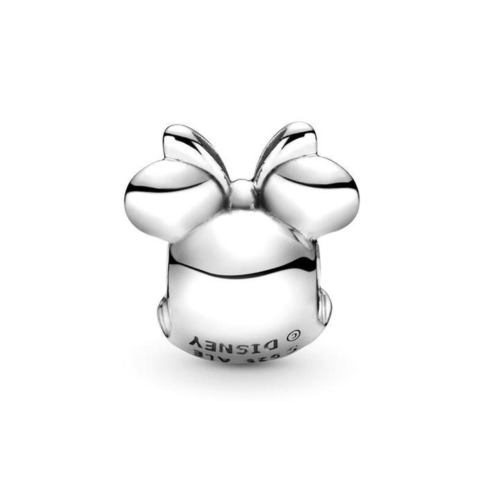 Disney Charm Minnie Porträt aus Sterlingsilber