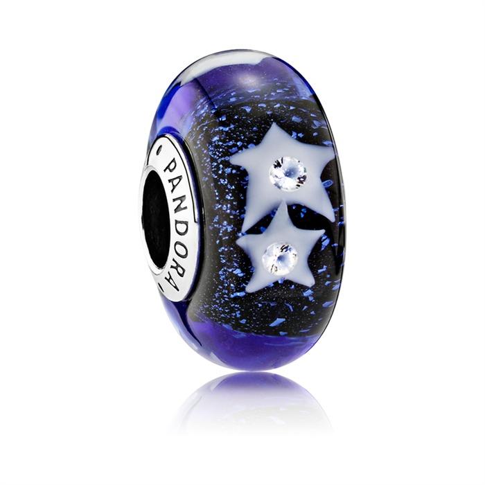 Bead Sterne Glas und 925er Silber