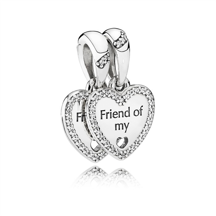 925er Silber Charm Friend of my