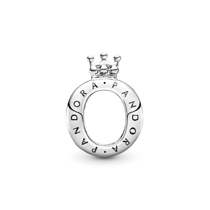 Bead Crown O aus 925er Silber