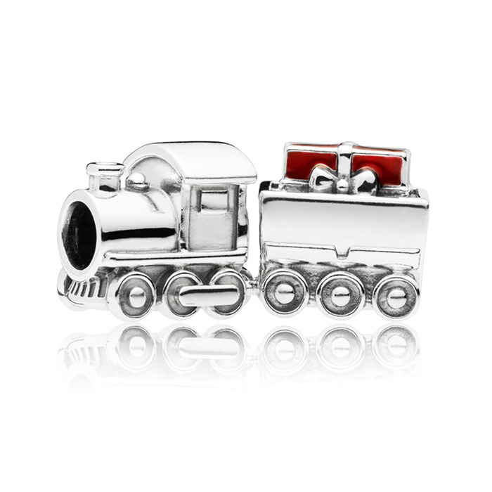 Charm Christmas Train aus Sterlingsilber