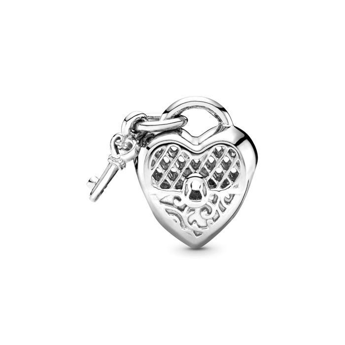 Charm Love You Lock aus 925er Sterlingsilber