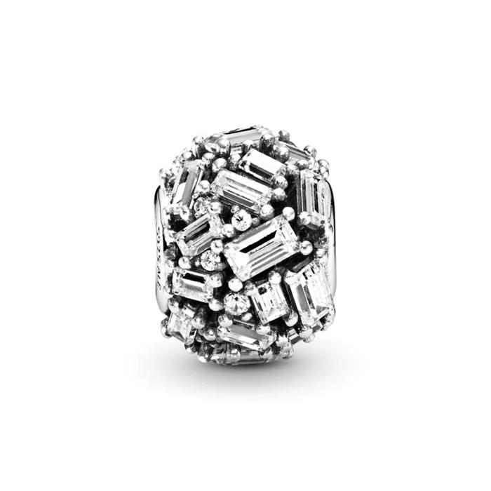 Charm Chiselled Elegance aus 925er Silber und Kristalle