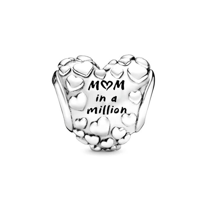 925er Silber Charm Mum in a million