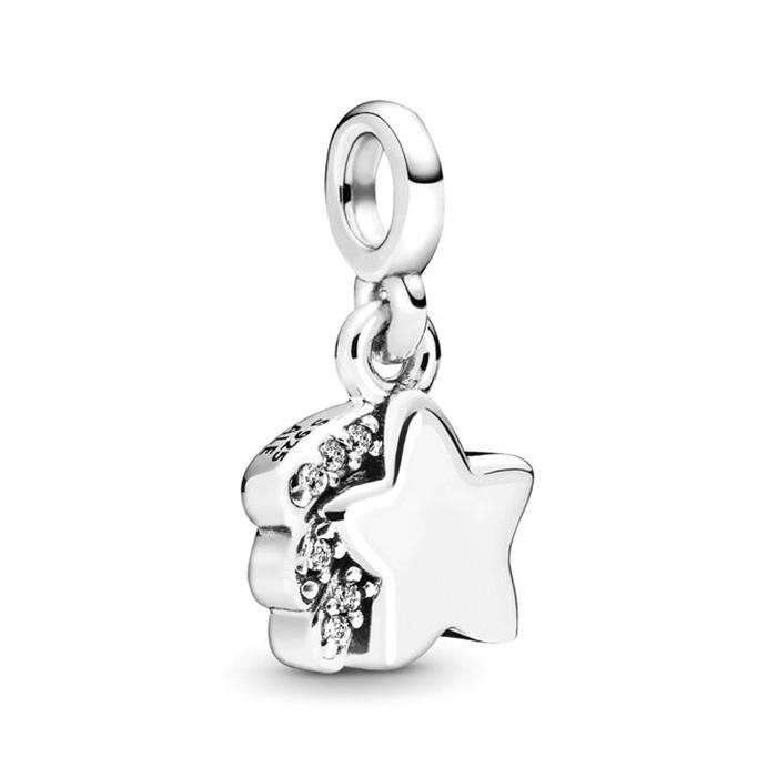 Me Charm Sternschnuppe aus 925er Silber mit Zirkonia