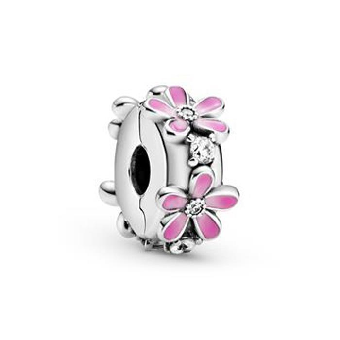 Clip Charm Gänseblümchen aus Sterlingsilber