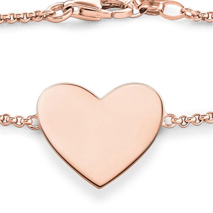 Armband Herz mit Infinity aus 925er Silber