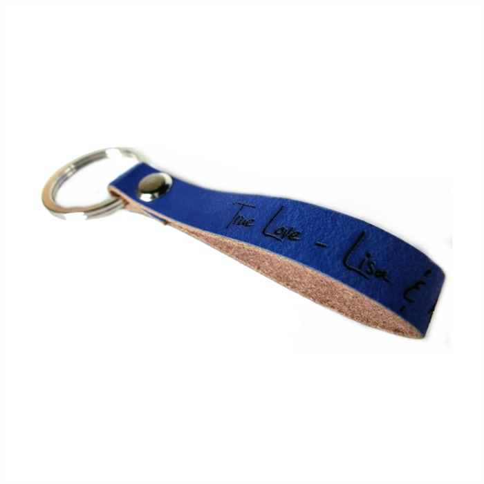 Schlüsselanhänger Rindleder inkl. Gravur