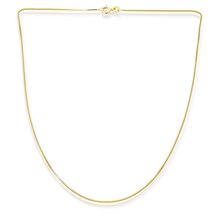 585er Goldkette: Venezianerkette Gold 45cm