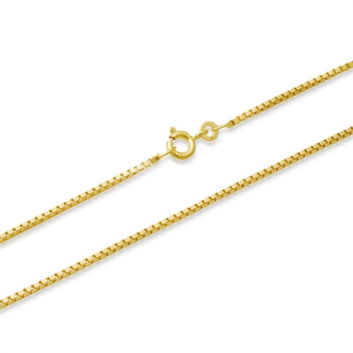 333er Goldkette: Venezianerkette Gold 50cm